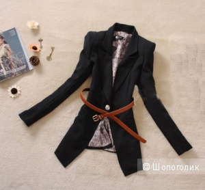 Продам новый стильный пиджак, женский, р. 42