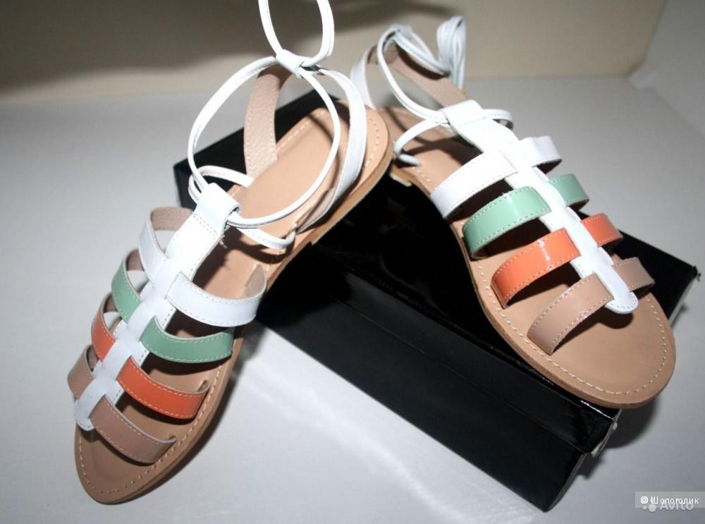 Оригинал. Новые сандалии Гладиаторы Asos. Натуральная Кожа 40 размер