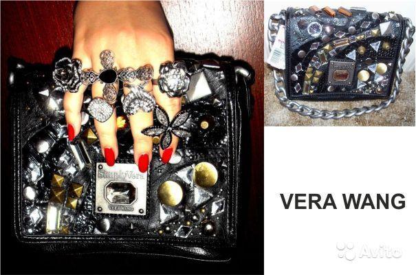 Оригинал. Новый клатч сумочка Vera Wang