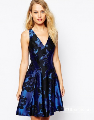 Короткое приталенное платье, Coast, р. UK 10/US 6