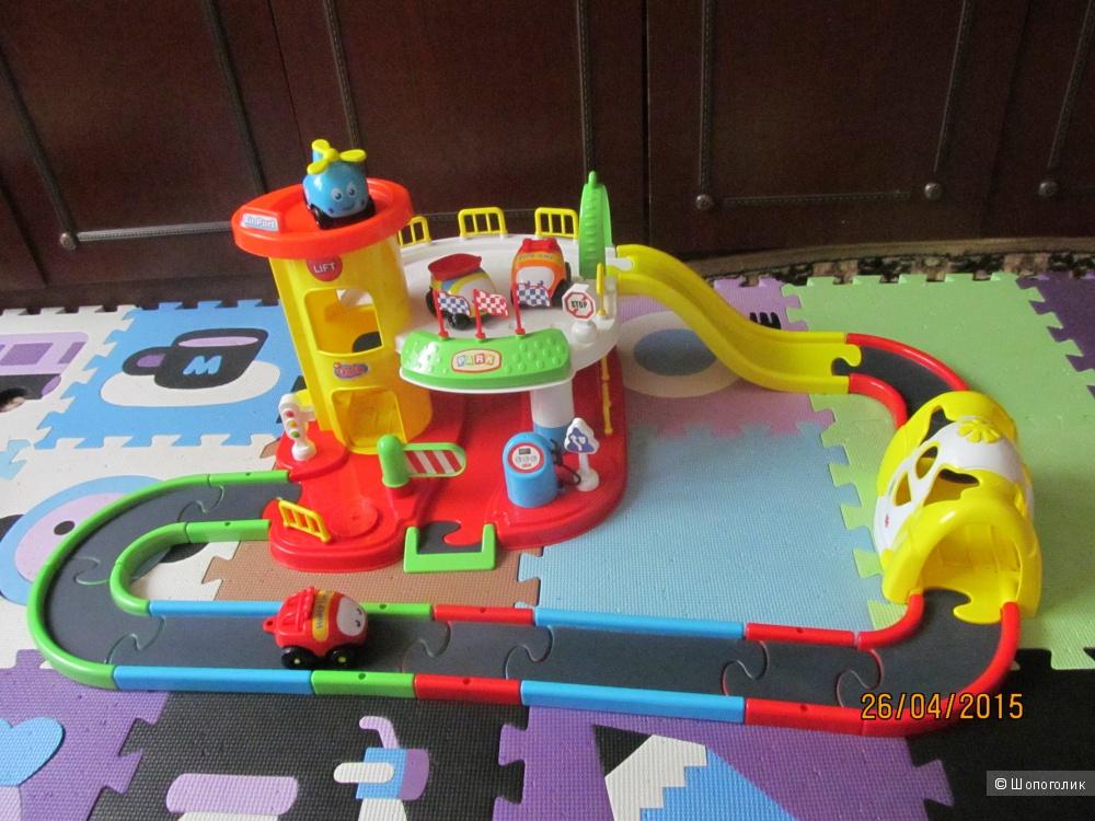 Автомобильный трек для малышей