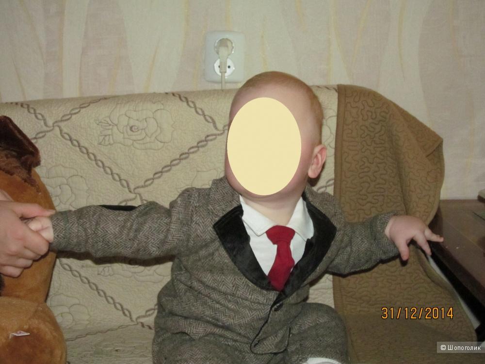 Костюмчик джентльмена малышковый