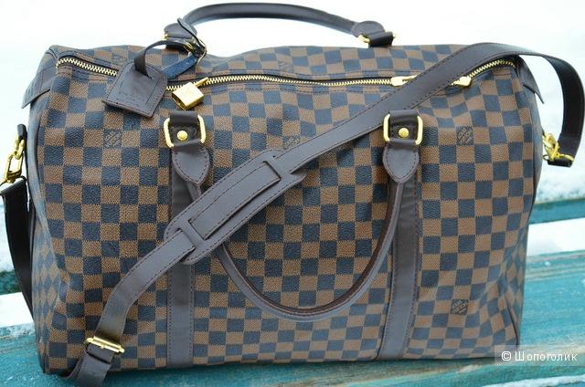 Дорожная сумка в фирменном стиле Louis Vuitton (копия) 92a74b8e601c9