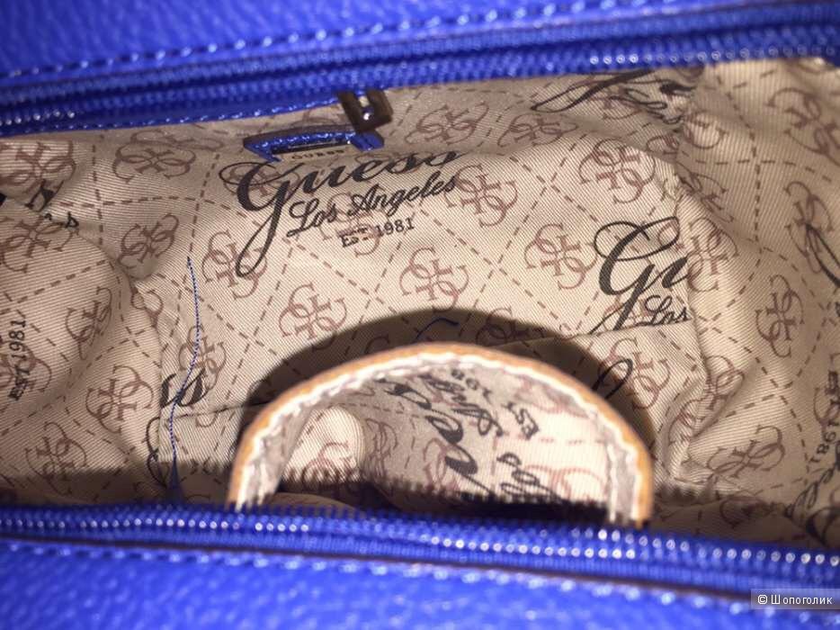 Классная сумка Guess !!! Оригинал !!! Есть в синем и оранжевом цветах