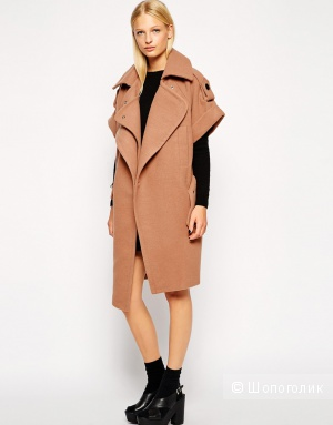 Стильное пальто Three Floor