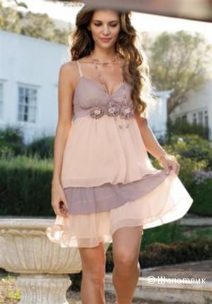 Новое шифоновое платье LIPSY, XS (40-42)