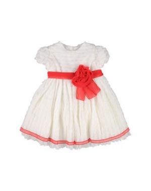 Белое кружевное платье Aletta 6-9 мес