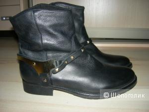 Кожаные ботинки Steve Madden