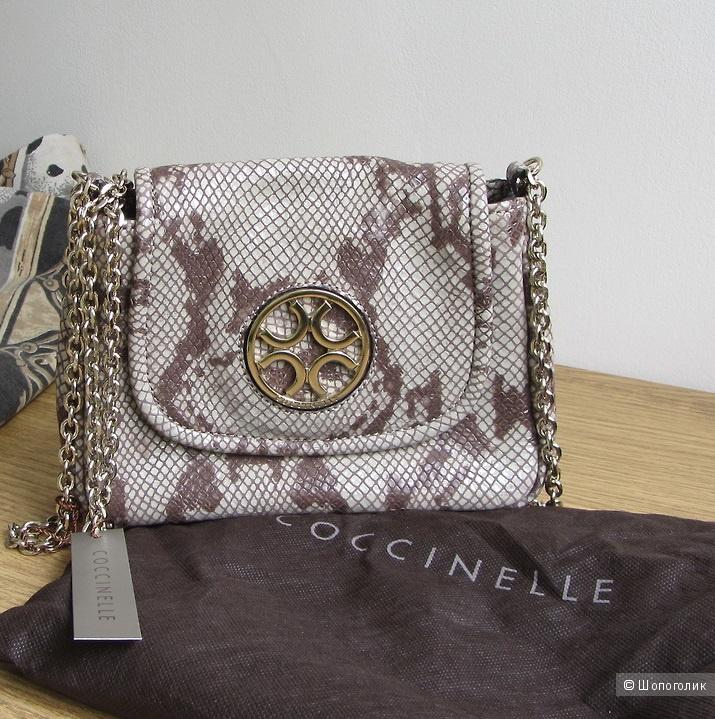 Новая сумка-кроссбоди Coccinelle (Италия), кожа, оригинал, без обмена и торга