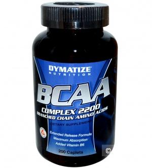Комплекс аминокислот BCAA 2200 от DYMATIZE NUTRITION