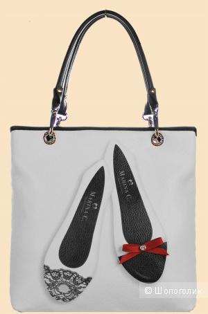Кожаная сумка marina creazioni Италия в идеальном состоянии