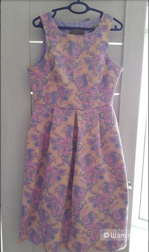 Жаккардовое платье Asos UK 12