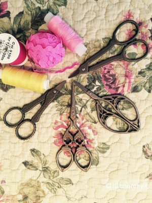 Ножницы для рукоделия под старину