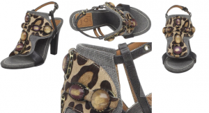 Medium Gray Caruga Sandal