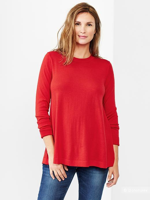Свитер Gap 100% merino wool, тончайшая шерсть!