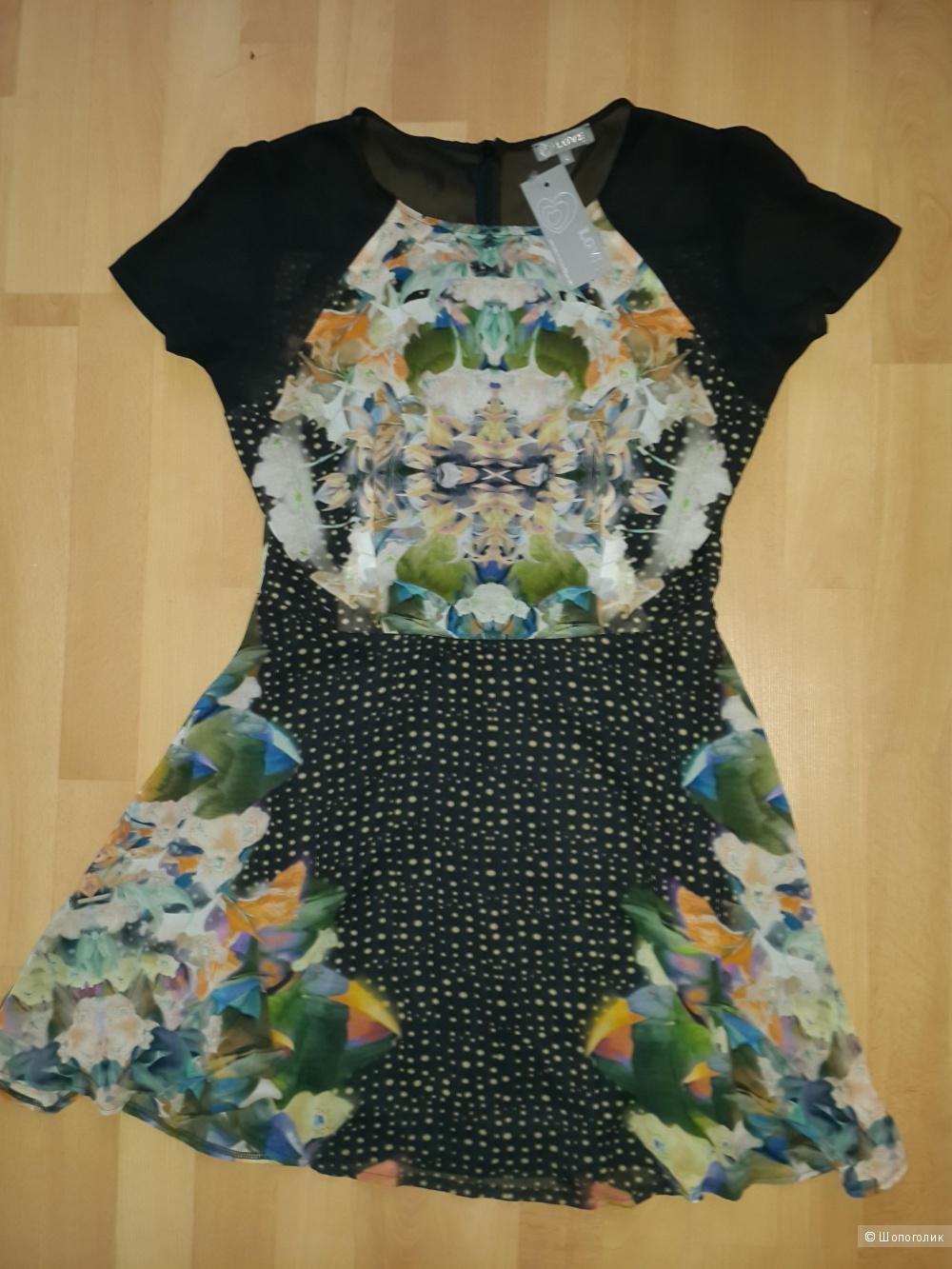 Продам платье Love Skater Dress In Digital Mirror Print размер L