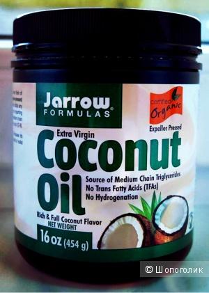 Органическое нерафинированное кокосовое масло Jarrow Formulas