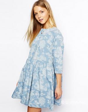 Джинсовое платье ASOS uk6