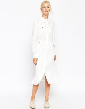 Платье-рубашка ASOS, размер UK10
