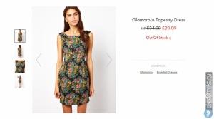 Продам абсолютно новое платье Glamorous Tapestry Dress - Multi floral / UK 8