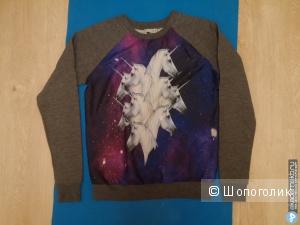 Продам абсолютно новый свитшот ASOS Sweatshirt with Galactic Horses - Multi / UK 10