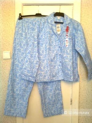Продаю пижаму женскую Charter Club - фланелевая 100% хлопок р.44-46 (М)