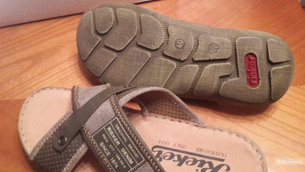 Продам сандалии (пантолеты, сабо) Rieker, мужские
