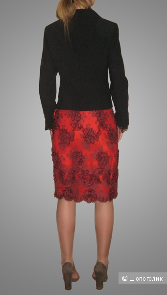 Обалденная юбка из трехмерного кружева от Tuleh XS