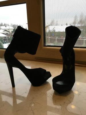 Босоножки Jil Sander Asymmetric sandals