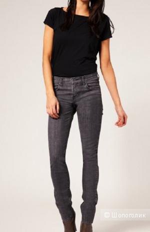 Dr Denim Mauser Grey Used Skinny Jeans W27