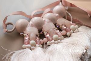 Ожерелье с кисточками