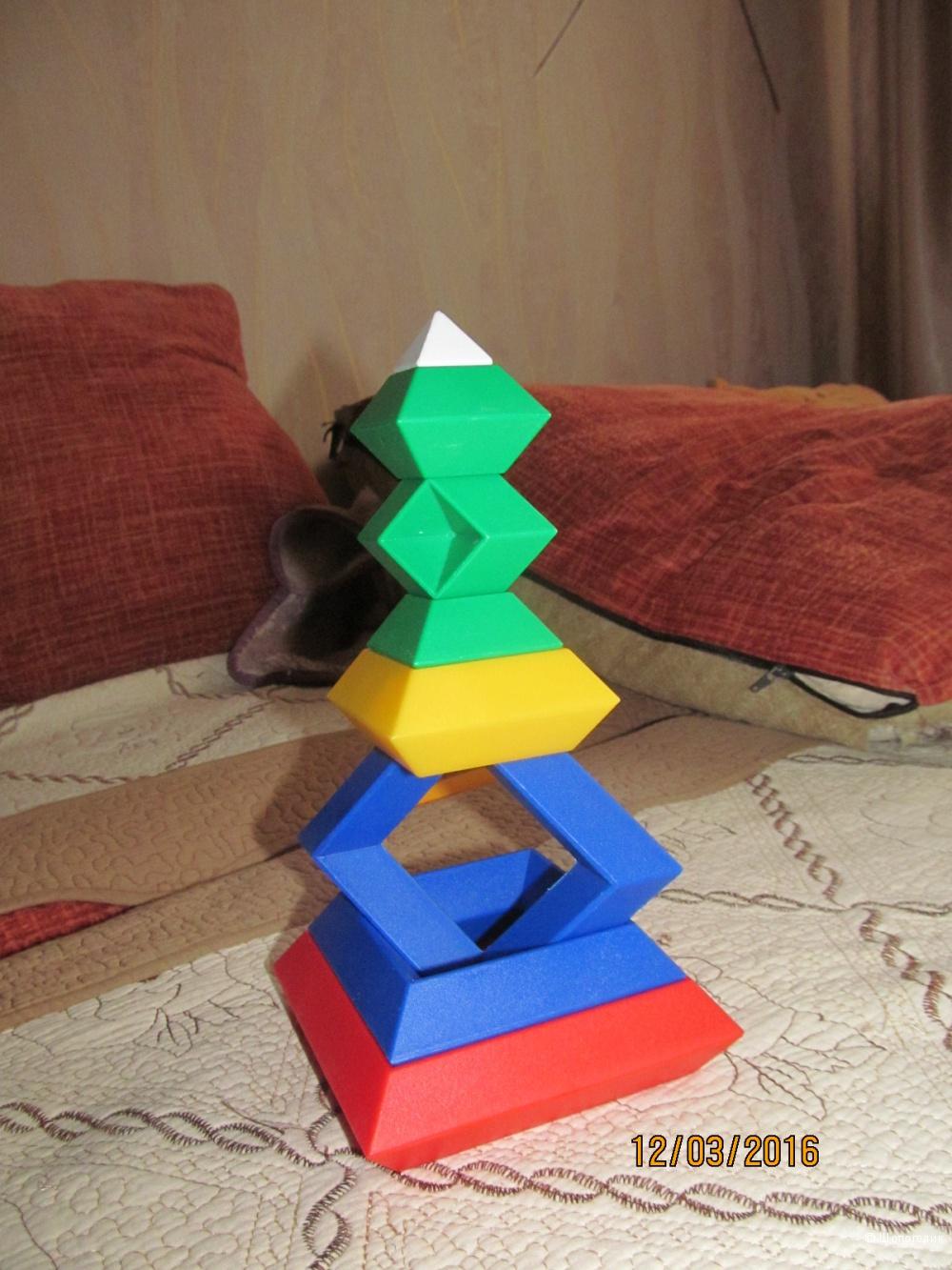 Детская пирамидка Devil tower