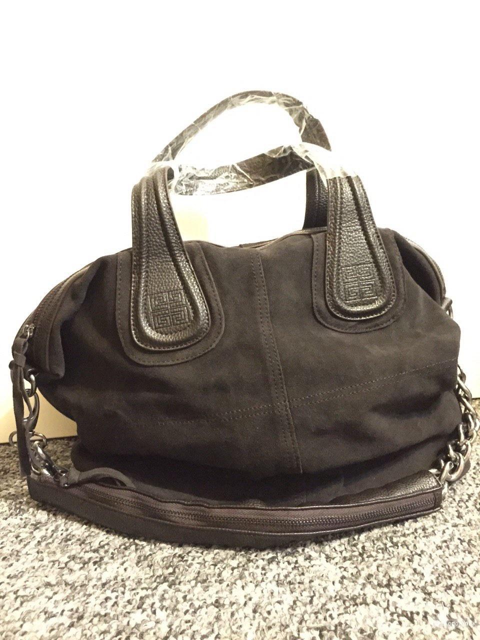 Шикарная сумка из натуральной замши Givenchy