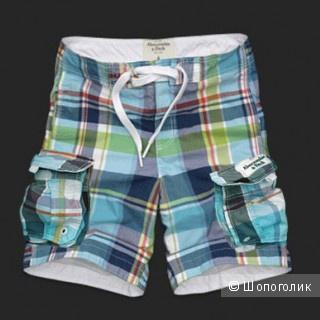 Яркие пляжные шорты AF