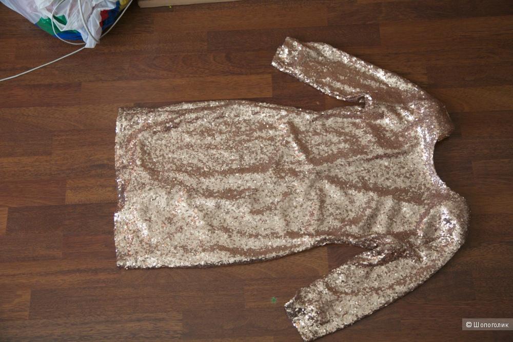 Платье с паетками ASOS