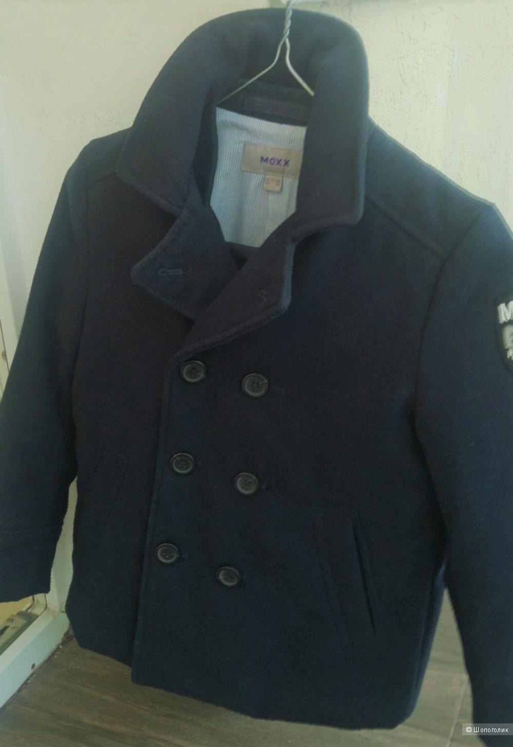 Короткое двубортное пальто(бушлат) для мальчика