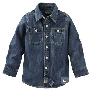 Джинсовая рубашка OSHKOSH для мальчика
