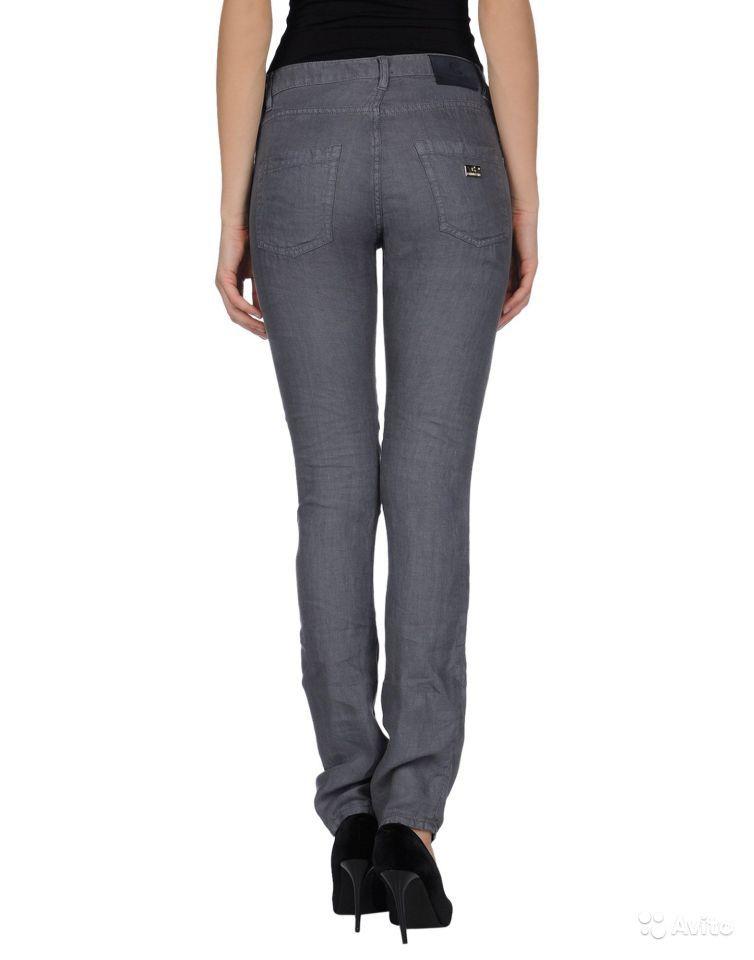 Итальянские джинсы 100% лён