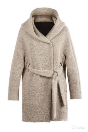 Новое шикарное пальто-кокон с капюшоном COP copine