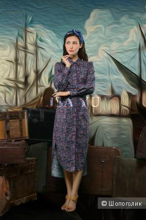 Стильное платье-рубашка из дизайнерского магазина taobao