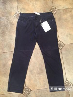 Замшевые джинсы CURRENT/ELLIOTT