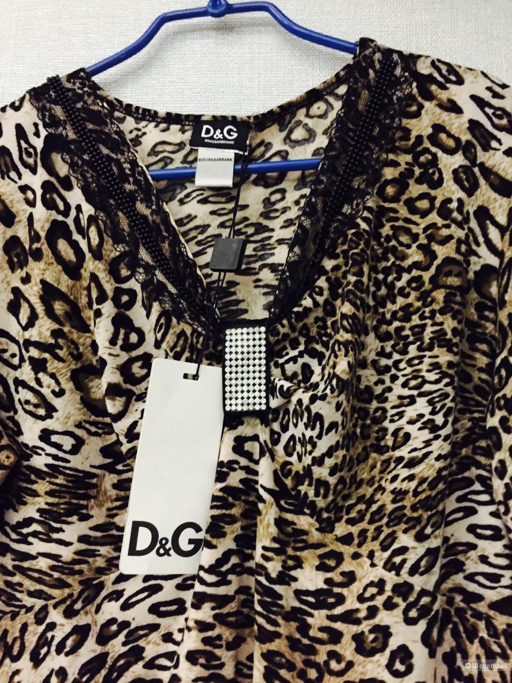 Леопардовая кофточка D&G