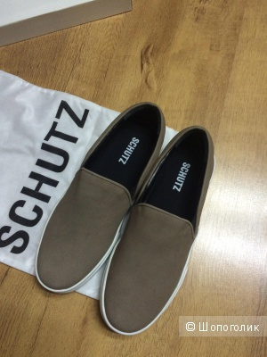 Слипоны Schutz, кожа, новые