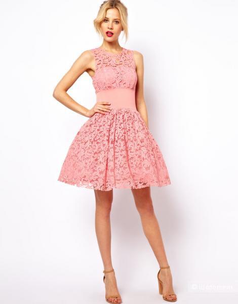 Роскошное кружевное платье Asos