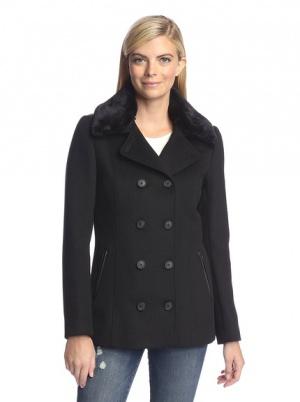 Новое пальто с натуральной кожей Soia&Kio Канада