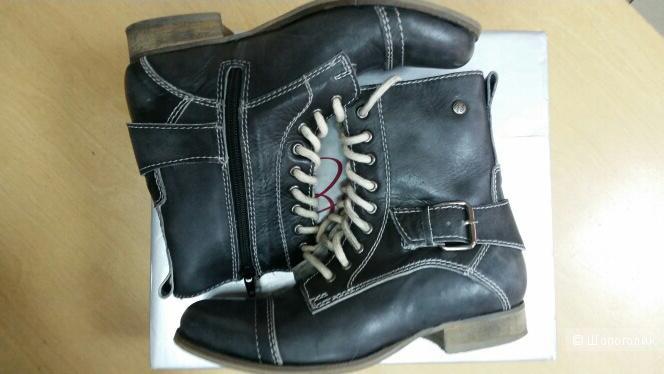 Кожаные ботинки (Англия) р-р 36