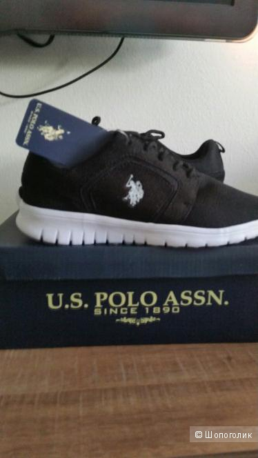 Новые кроссовки U. S. Polo (оригинал США) р-р 37,5