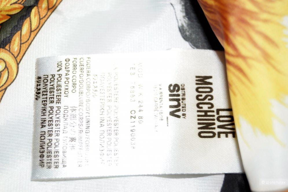 Чудесный плащ-кейп Love Moschino