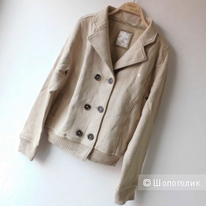 Двубортный кардиган/толстовка/куртка