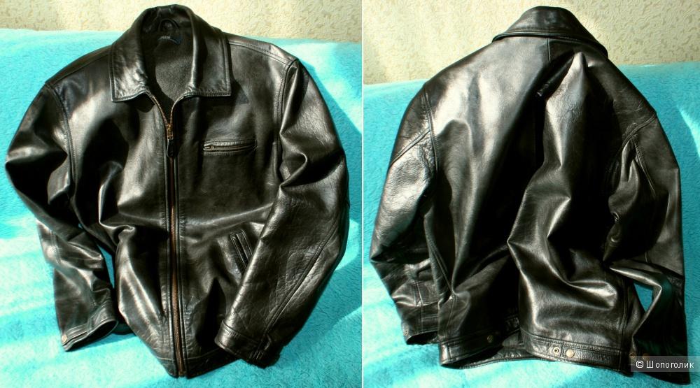 01c15d5f58f60 Продам винтажную кожаную куртку Polo Ralph Lauren (р-р S), в ...